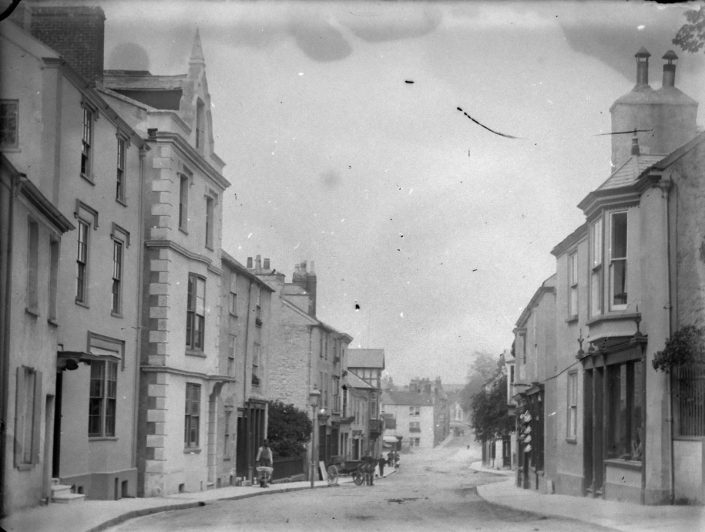 Fore Street, Chudleigh before memorial