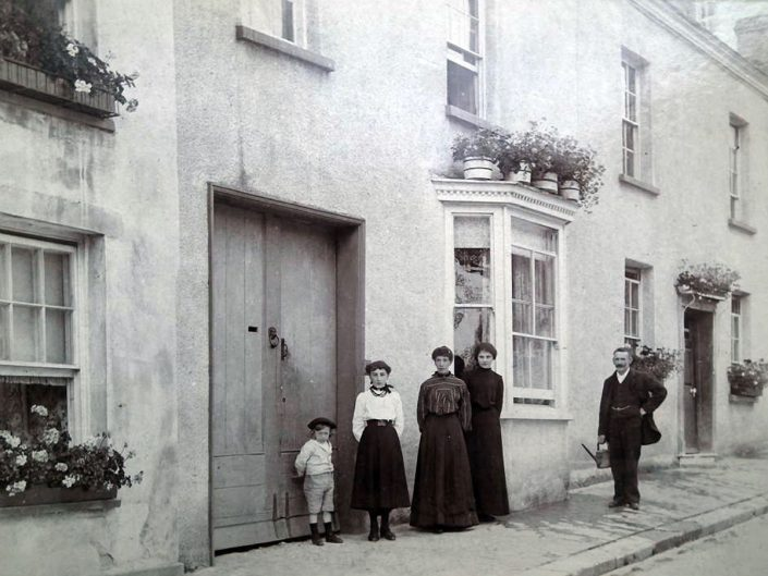1901 - 69 Old Exeter Street, Minnie Caunter (2nd left)