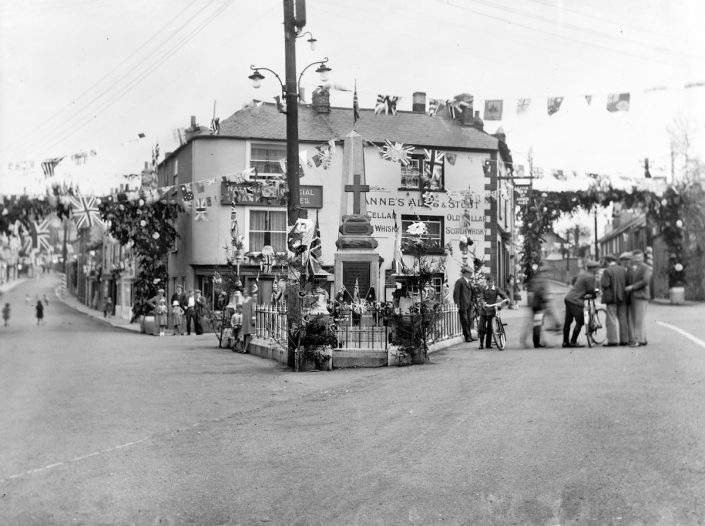 1935 - The Square, Silver Jubilee King George V