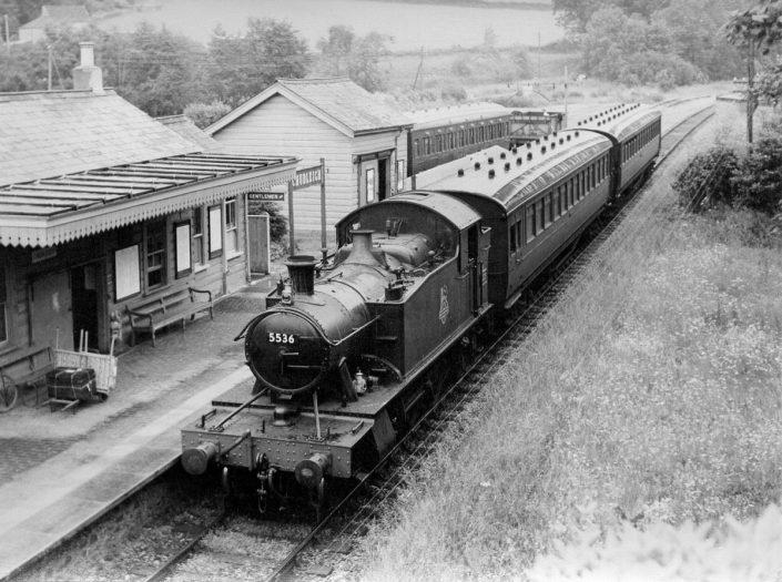 1957 - Chudleigh Railway Station