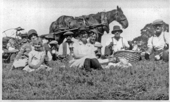 Chudleigh family haymaking (date unknown)
