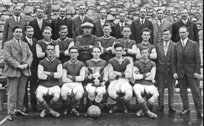 1926 - Chudleigh Football Team