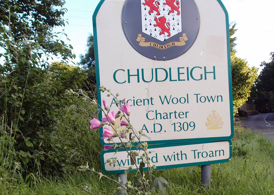 Chudleigh Town Sign