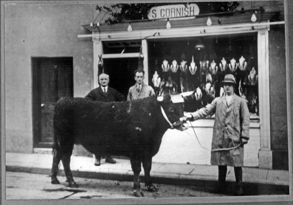 S Cornish, Butcher, Chudleigh